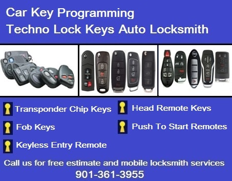 Techno Memphis Locksmith - Best Price! Car Keys, Ignition, Rekey